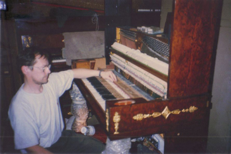 Converting An Old Piano Into A Digital Piano   Hampstead ...